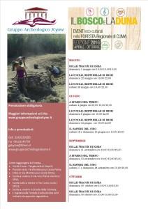 Bosco e duna programma 2016
